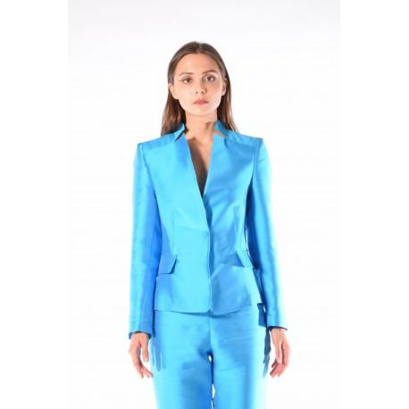 Giacca azzurra in duchesse
