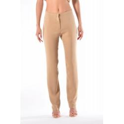 Pantalone in cadì color biscotto